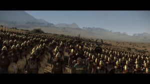 Spartans on the march.. by KingMechanicalForest