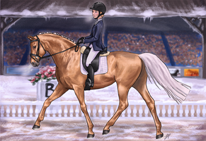 WEG Winter Edition Dressage by weezapony
