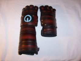 Leather Gauntlets 001 by Altitude-Artisan