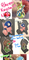 Pokemon Keychains 2 by Dragounette