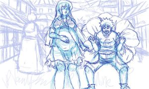 fathers day 2011 sketch wip by Nishi06