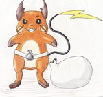 Pokol the Raichu by GoldFlareon