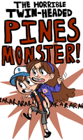 PINES MONSTER by razkavia