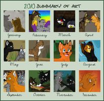 Summary Of Art 2010 by Miiroku