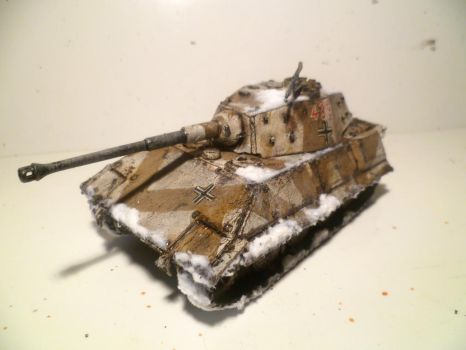 Sloped Armour Tiger by FruFruHM