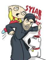 Family Guy Sylar v Stewie by Intakes