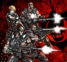 gears of war 3 by gtartwork