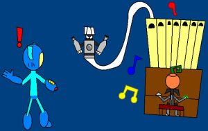 spookman's musical talents by LRpaul