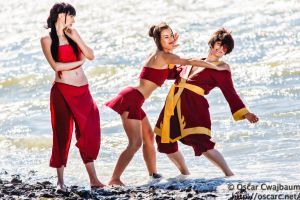 Fire Nation Beach Vacation by OscarC-Photography