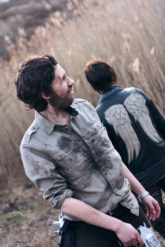 The walking dead cosplay by XMenouX