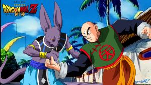 bills vs tenshinhan by ingridMZ