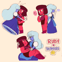 Rupphire sketches by pcerise