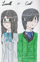 Lunelle and Ciel by Tarmina