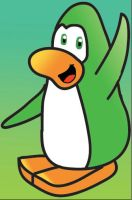 GreenPenguin by ClubYoshi by clubpenguinz