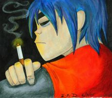 Nicotine Contemplation by Krimzon-1