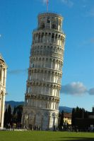 Crooked Pisa - Original by CliffEngland