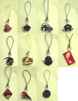 Air Gear Emblem: Charms a by Akusesu