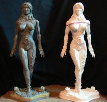 Poison Ivy resin cast 1. by Leebea