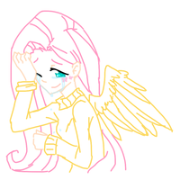 Don't Cry Fluttershy by Annie-Aya