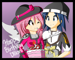 Wizard101 - Happy Birthday Dillon! by PinkLovii