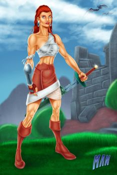Medieval age - Malina (Epic Girl) by manthx