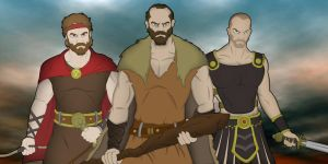 Heroes of Greece by blacksmith7