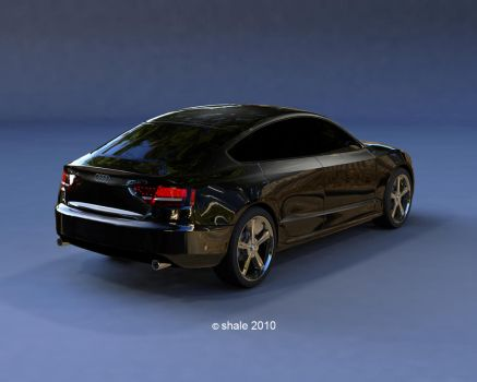 Audi A5 rear shot by shale1