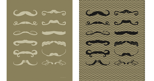 Mustache Chart( Versions 1 and 2) by AugustinasRaginskis