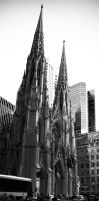 St Patrick's Catherdral by musback