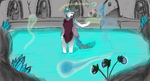Soothsayer Llana in the Spirit Pool by ShadersHQ