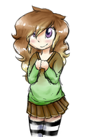 Vocaloid Fan Character Chibi by JustALittleShadow