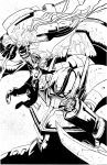 Thor VS. Optimus Prime - Gloyd - Egli - Inks by SurfTiki