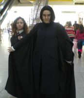 London Expo - Snape - Hermione by tarangryph