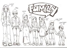 My family by lyanora