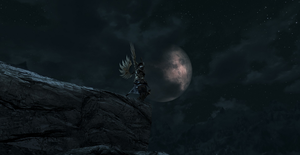 Armoured Angel in the Moonlight by BoboMagroto