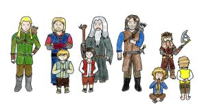 Fellowship of the Ring by PseudonymousRMY