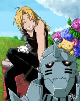 Full Metal Alchemist by neko-rulz