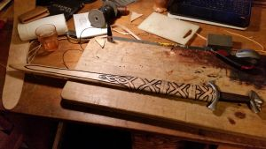 Time to make a Scabbard #2 by DanoGambler