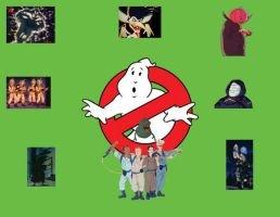 Ghostbusters vs. Classic Ghosts by OtakuDude83