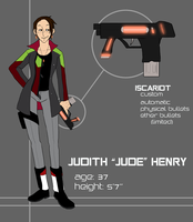 Judith 'Jude' Henry by hyperionwitch