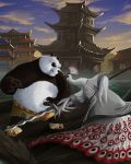 Po vs Lord Shen by karuma9