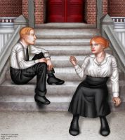 Before Death: Aislin and Aiden by callisto-chan