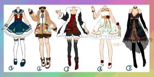 Adoptable : Outfits [CLOSED] by DrtzAdopt
