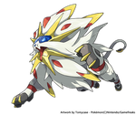 Solgaleo - The Sun Legendary by Tomycase