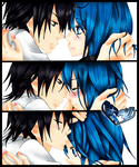 Gray Fullbuster and Juvia Loxar [FAIRY TAIL] by DiaNiika