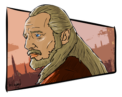 Qui-gon  by Namcoking