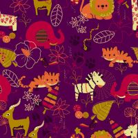 Exotic Animal Pattern by pronouncedyou