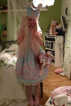 Sweet lolita coord by Softie-chan