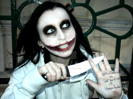 Now, I Can Smile Forever - Jeff the Killer by GlitterDebris