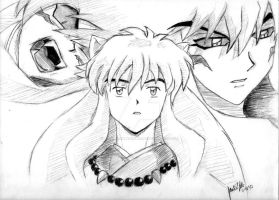 Inuyasha by NoontimeBlackCherry